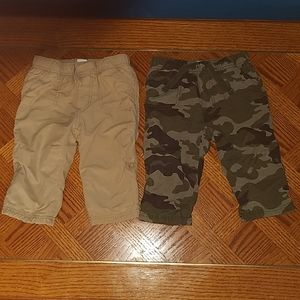 Bundle of 2 Old Navy Pants Size 6-12 Months